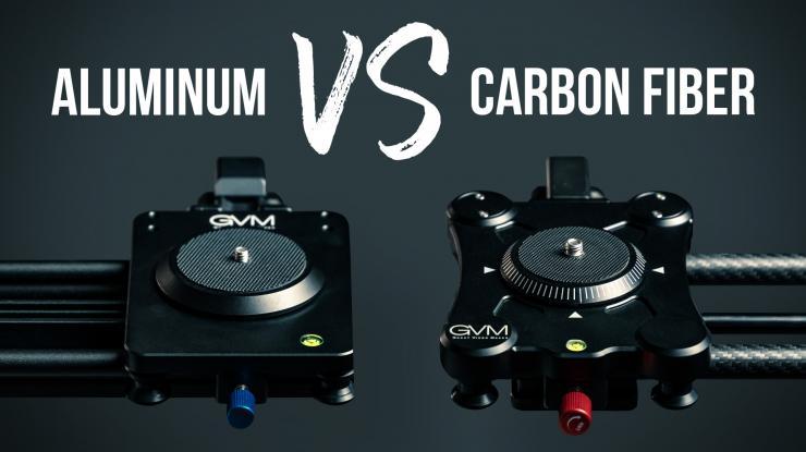 Motorized Camera Slider Comparison: Aluminum vs. Carbon Fiber? (GVM GT-J80D and GP-80QD Review)