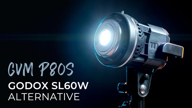 Best Godox SL60W Alternative for Beginners on a Budget (GVM P80S LED Video Light Review)