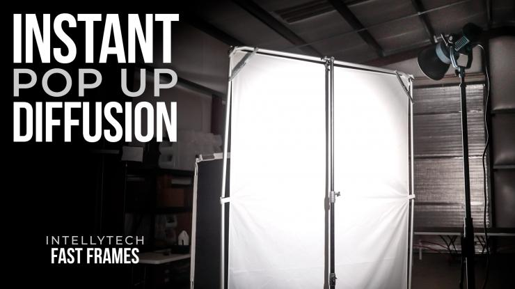 HUGE & INSTANT Pop Up Diffusion Panels   Intellytech Fast Frames Review