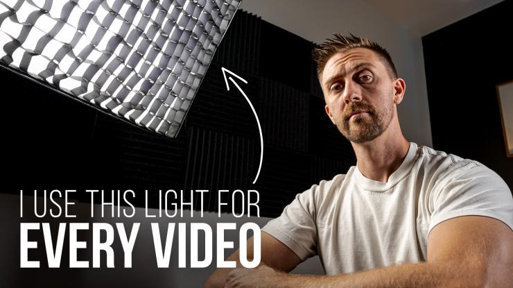 Intellytech LiteCloth LC-160RGBW II Foldable Light Mat Review (I Use This Light in Every Video)