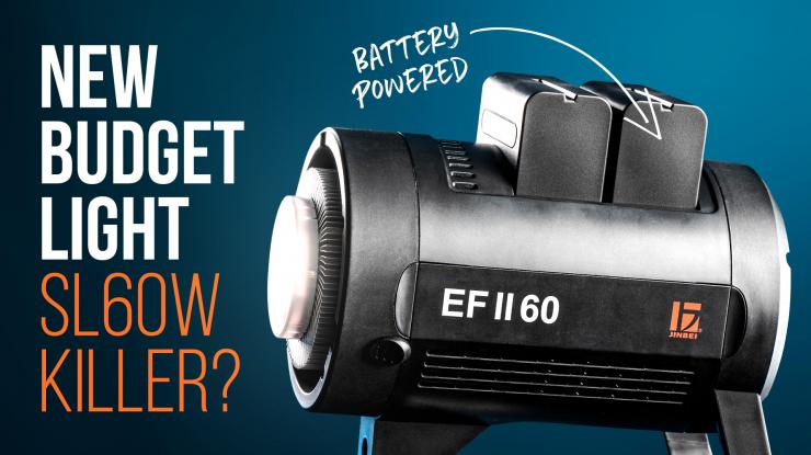 Jinbei EF II 60 Review | Battery-Powered Godox SL60W Killer?