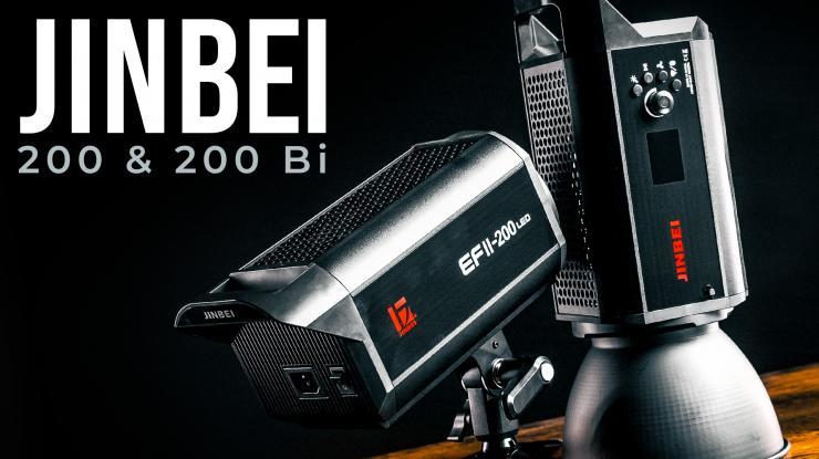 Jinbei EFII-200 & EF-200 Bi-Color Review | Worthy EFII-60 Successors?