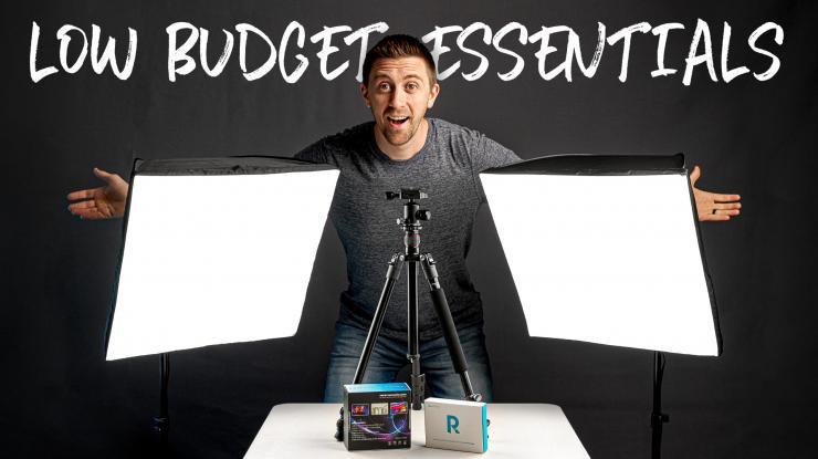 4 Low Budget Essentials for New Creators