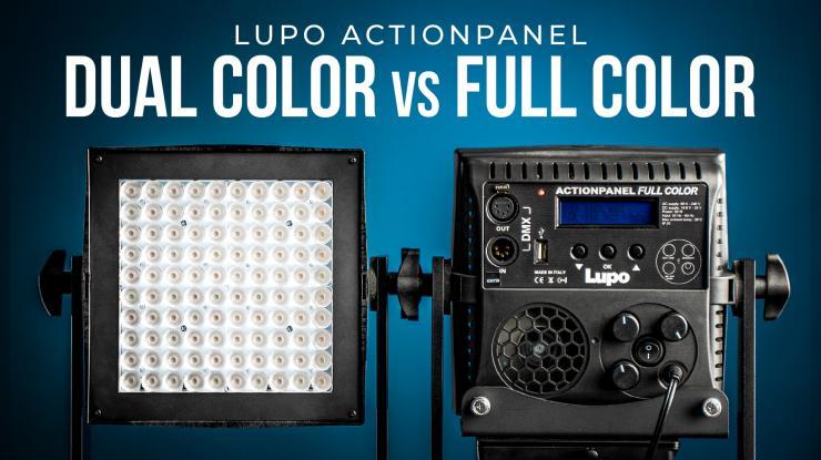 Lupo Actionpanel Dual Color Vs. Full Color | Review + Brightness Comparison