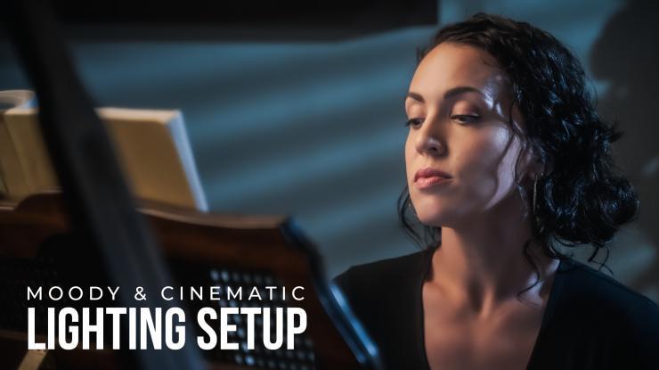 Moody Cinematic Lighting Setup (Nanlite Forza 200, Forza 60 & 60B, and LitoLite 5C)