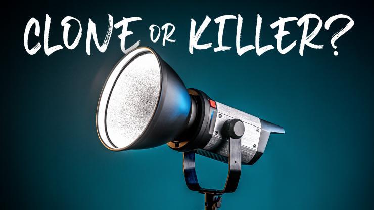 Aputure 300d Clone or Killer? Pixel C220 LED Video Light Review