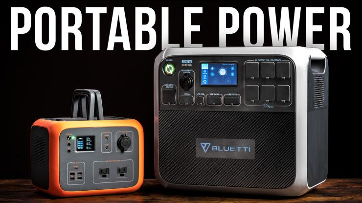 Portable Power for Filmmakers (Bluetti AC50S + AC200P)
