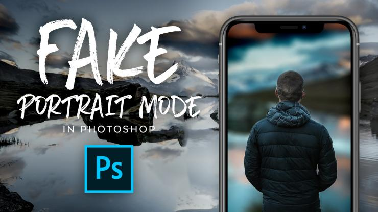 Fake iPhone Portrait Mode Using Any Image in Photoshop