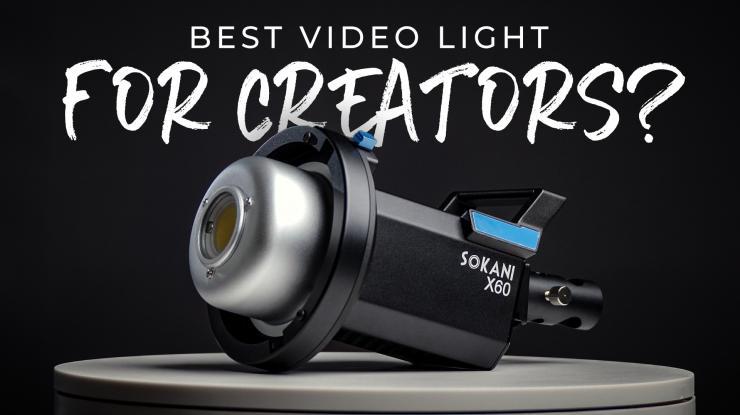 Sokani X60 LED Video Light Review (Best Light for New Creators?)