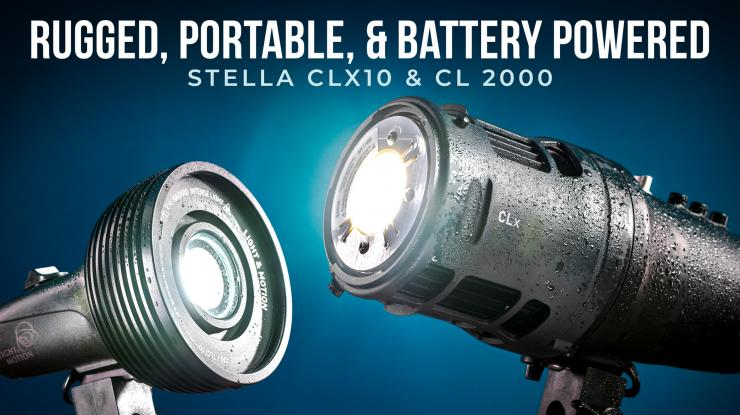 Stella CLx10 & CL 2000 LED Light Review (Rugged, Portable, & Battery Powered)