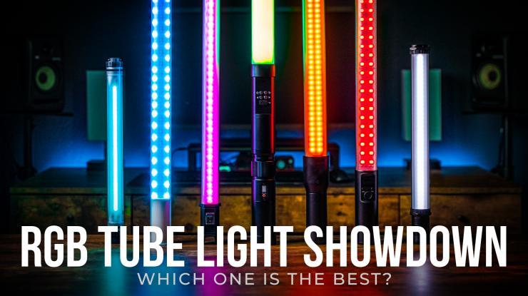 Ultimate RGB Tube Light Showdown & Review (Godox LC500R, Nanlite Pavotube 15C, Yongnuo YN360 & More)