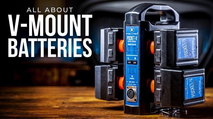 All You Need to Know About V-Mount Batteries (Featuring Intellytech Pocket V)