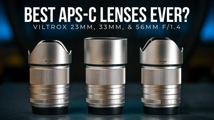 Best Budget APS-C Lenses Ever? | Viltrox 23mm, 33m, 56mm f1.4 Review (Sample Photos + Video Footage)