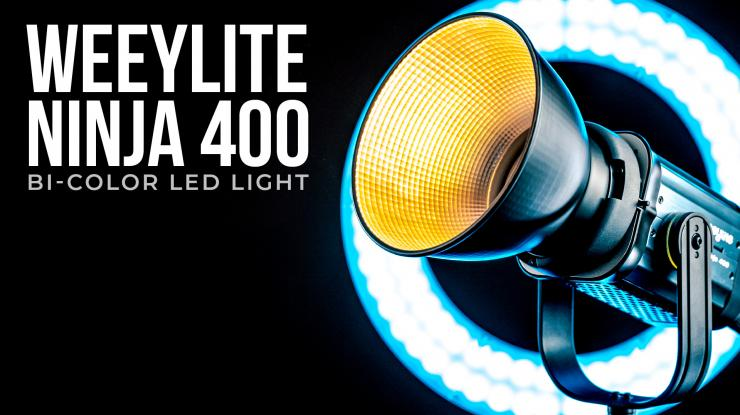 Weeylite Ninja 400 Review | Budget Bi-Color LED Video Light (Plus WE-10 RGB Ring Light)
