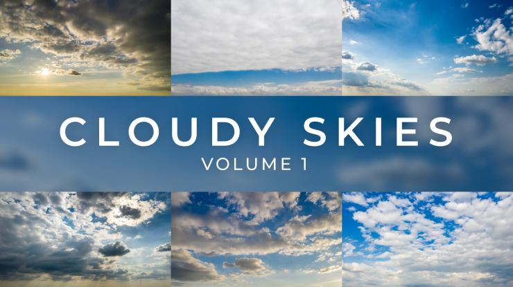 Luminar Sky Replacement Pack: Cloudy Skies Volume 1