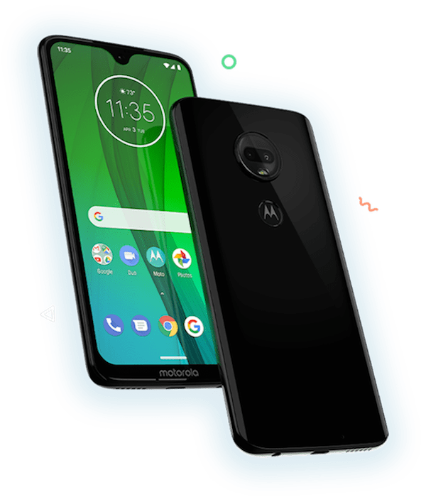 Enter your email for a chance to win a moto g7 phone.