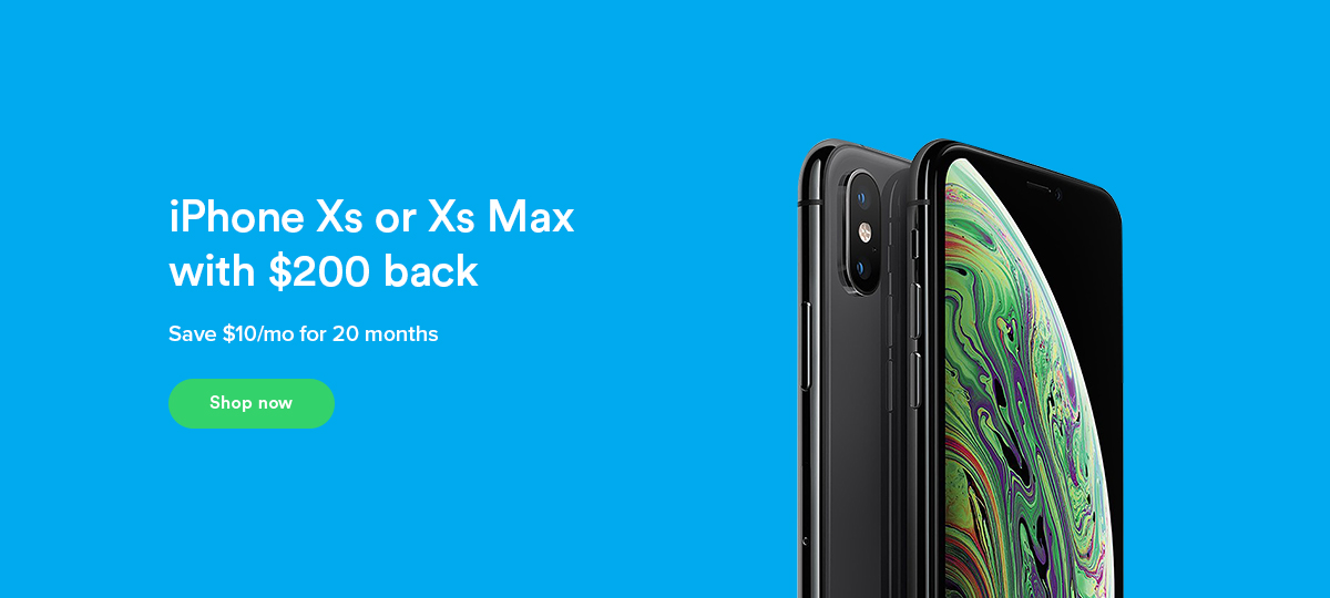 iPhone Xs or Xs Max get $200 Ting credit