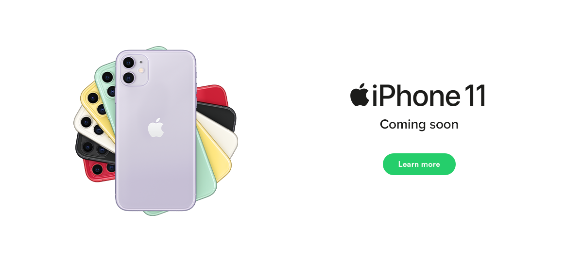 iPhone 11 coming soon