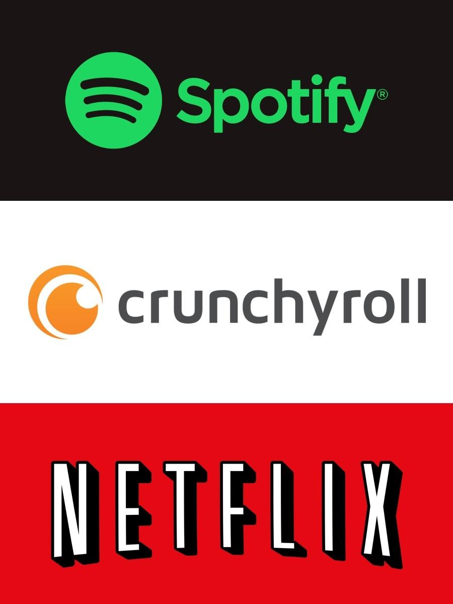spotify-crunchyroll-netflix