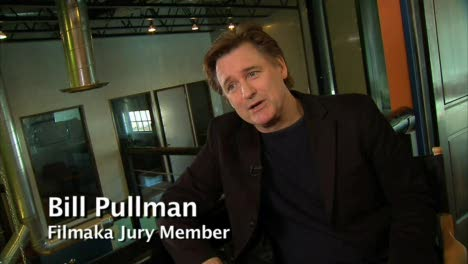Bill Pullman Intervi-Filmaka