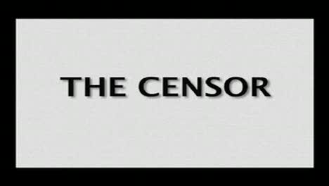 The Censor-Melissa