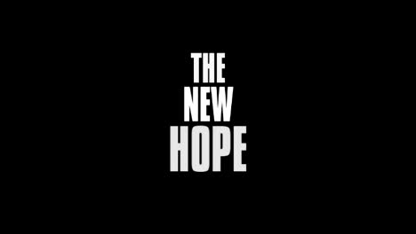 The New Hope-Maxim