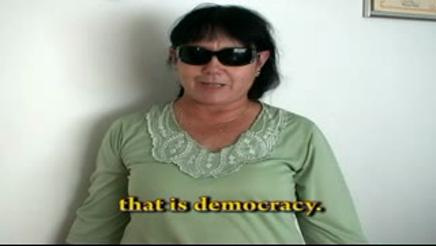 DEMOCRACY IS-PATRICIA