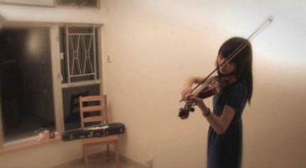 Violinist-Michael