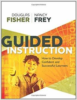 Guided Instruction How to Develop Confident and Succesful Learners