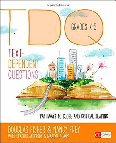 Text-Dependent Questions K-5