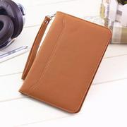 Contracted Solid Color Protective Cover Case For Amazon Kindle with Wristband