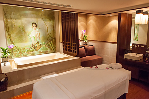 Thai Airways Orchid Spa Bangkok BKK