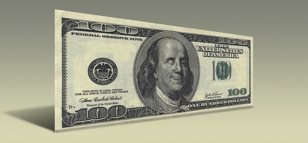 Ben Franklin Wink Bill