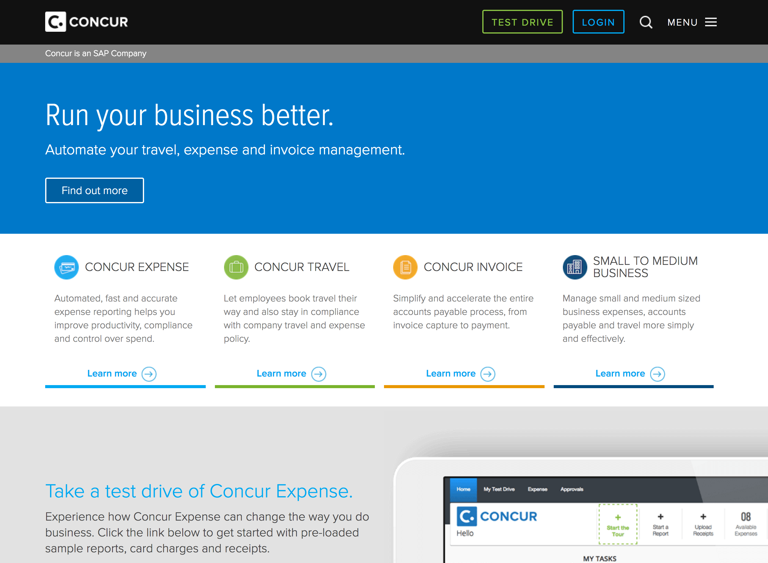 Concur Account Set-up
