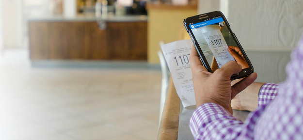 Take Pictures of Receipts with the Concur Mobile App