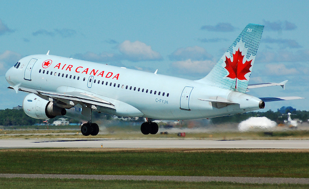 Comparison of Airline Fleet to Air Canada
