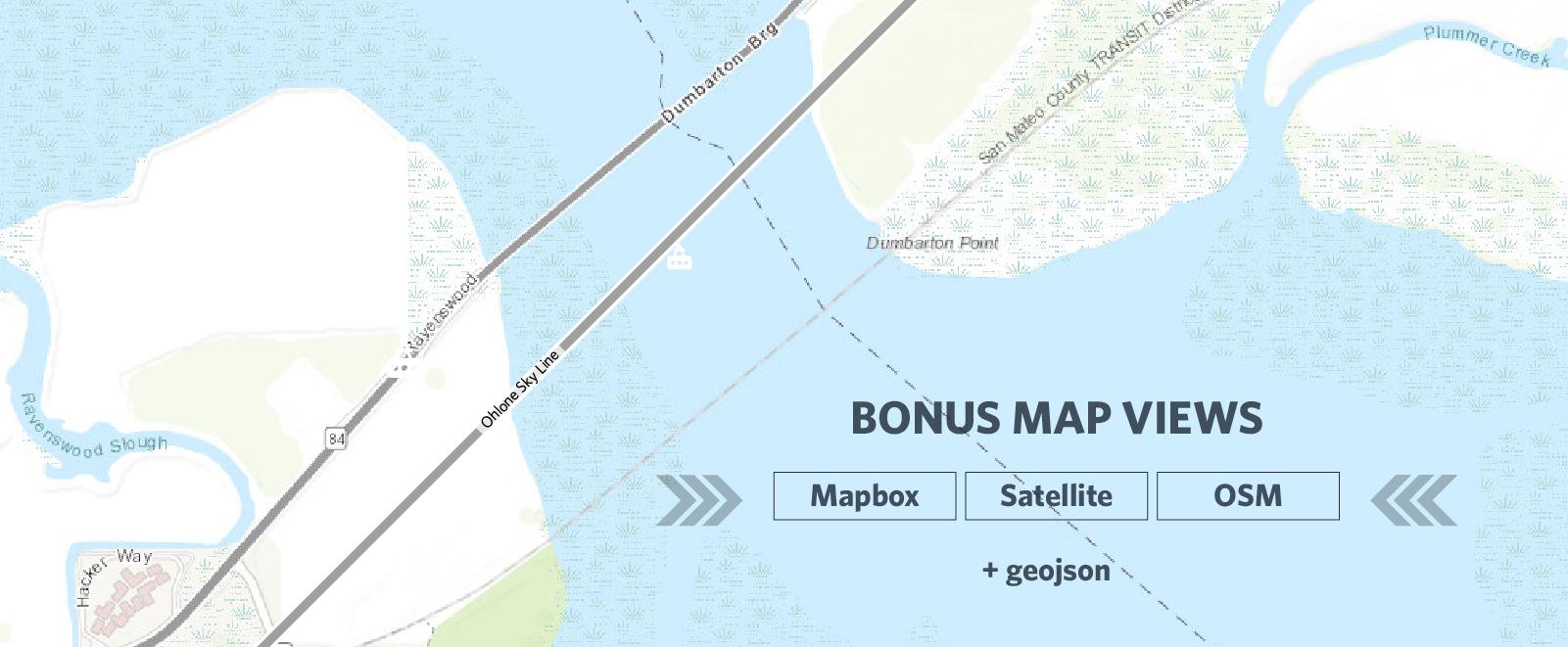 Bonus Map Views