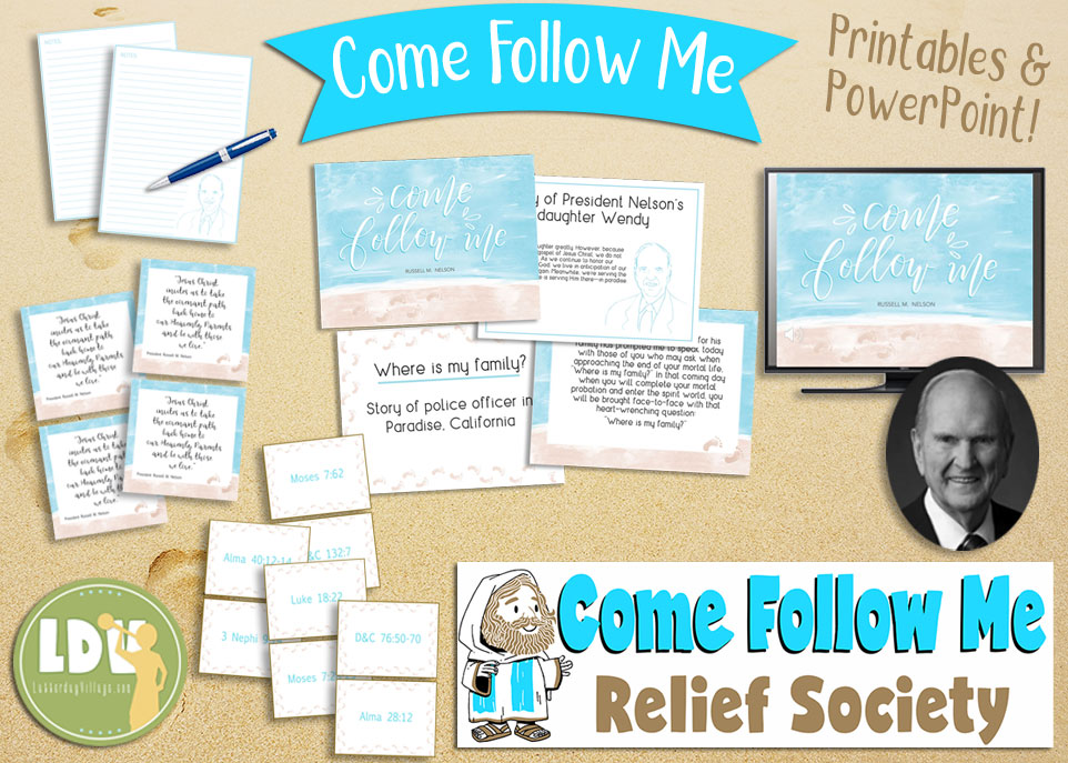 2019 Relief Society Lesson Helps