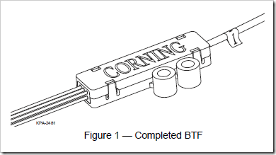 Buy Corning Buffer Tube Fan Out Kit from Fiber Optics For Sale Co.