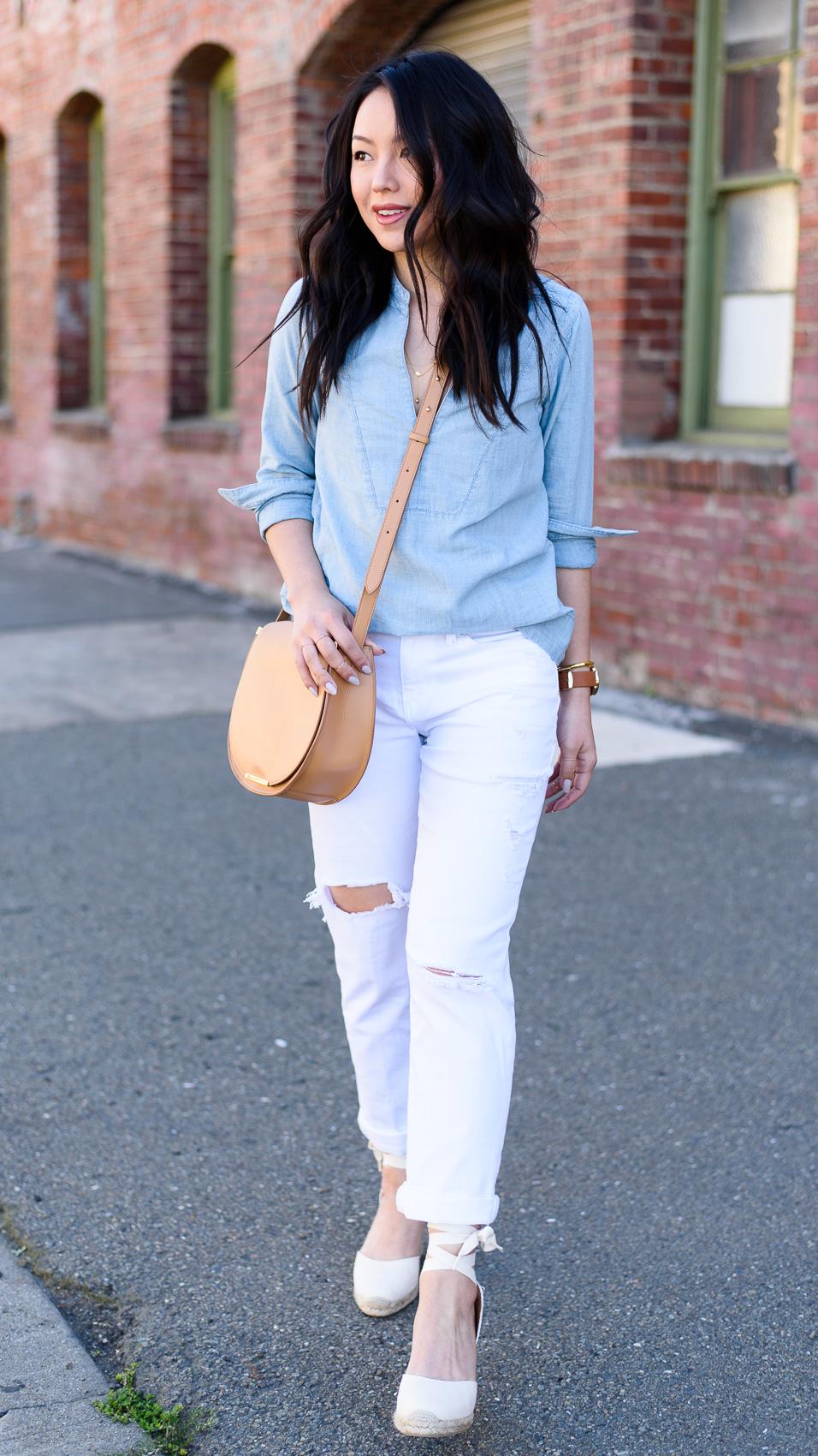 Ootd Boyfriend Jeans Again The Fancy Pants Report San Francisco Fashion Blog