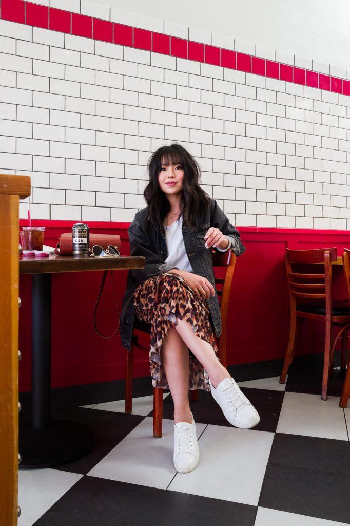 aca4a4b1aa Leopard Midi Skirt - The Fancy Pants Report   San Francisco Fashion Blog