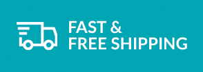 Fast and Free Shipping