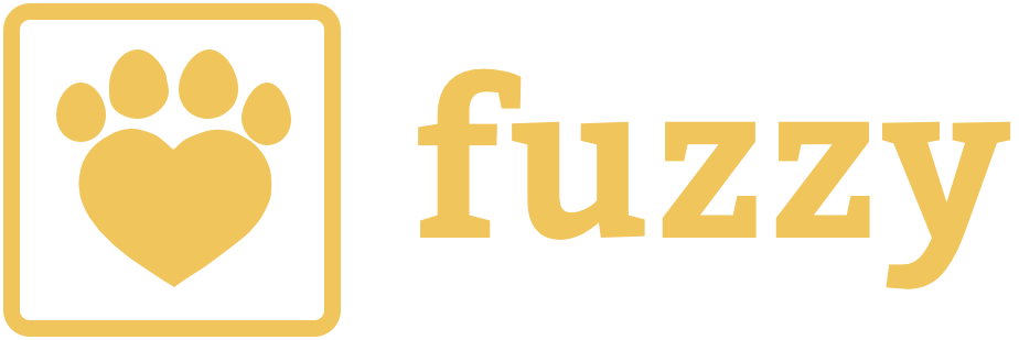 Fuzzy Logo yellow