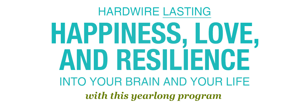 Hardwire Lasting Happiness into Your Brain and Your Life with this yearlong self-help program