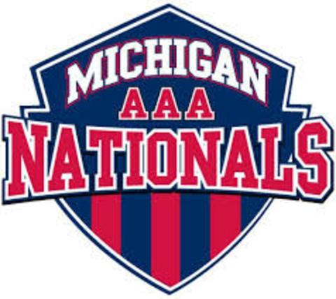 Michigan Nationals mascot