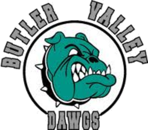 Butler Valley Dawgs mascot