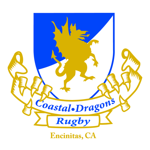Coastal Dragons Rugby mascot
