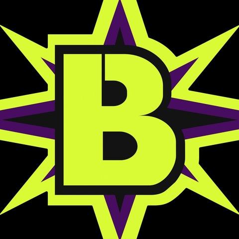 BOOM Black FS mascot