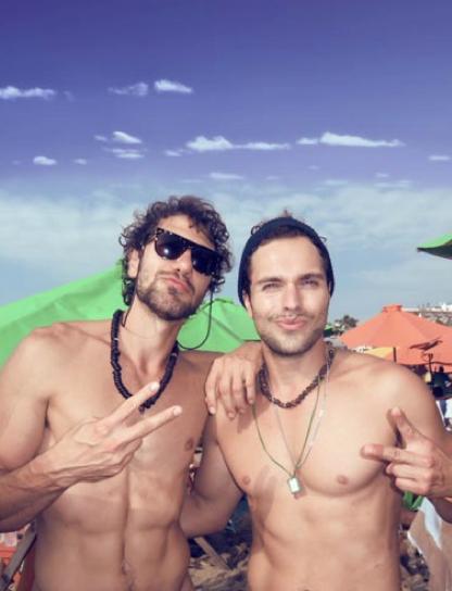 Puerto Vallarta Boys on Beach
