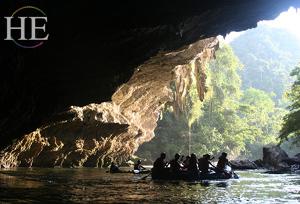 Caving, Rafting, and Exploring in Canyon of Rio Claro